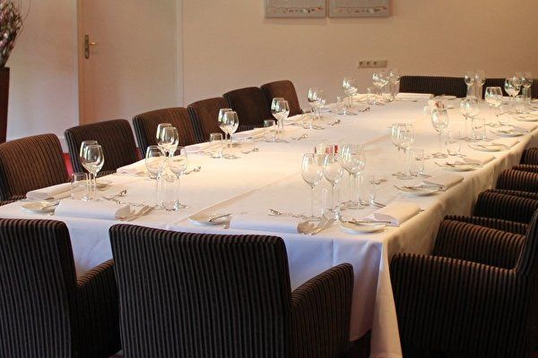 The enjoyment of private dining
