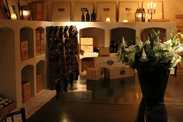 Enjoy the good life in our wine cellar